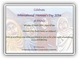 IWAQ International Women's Day 8 MARCH