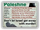 Rally for Palestine 20 JULY