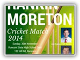 RankinMoreton Cricket 30 NOVEMBER