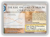 Rise and fall of Muslim Civilizations 22 November