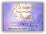 Women Companions of the Prophet (pbuh) 21 & 22 SEPTEMBER